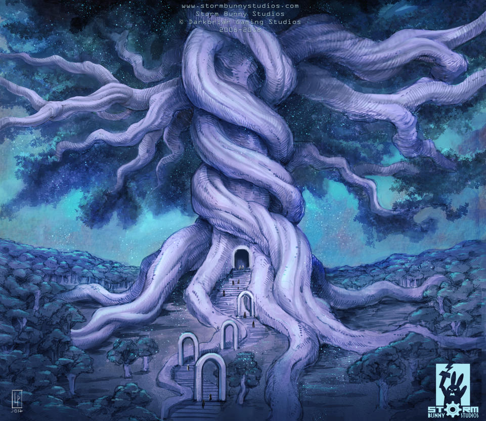 Lae'quiona, the life tree by Savedra