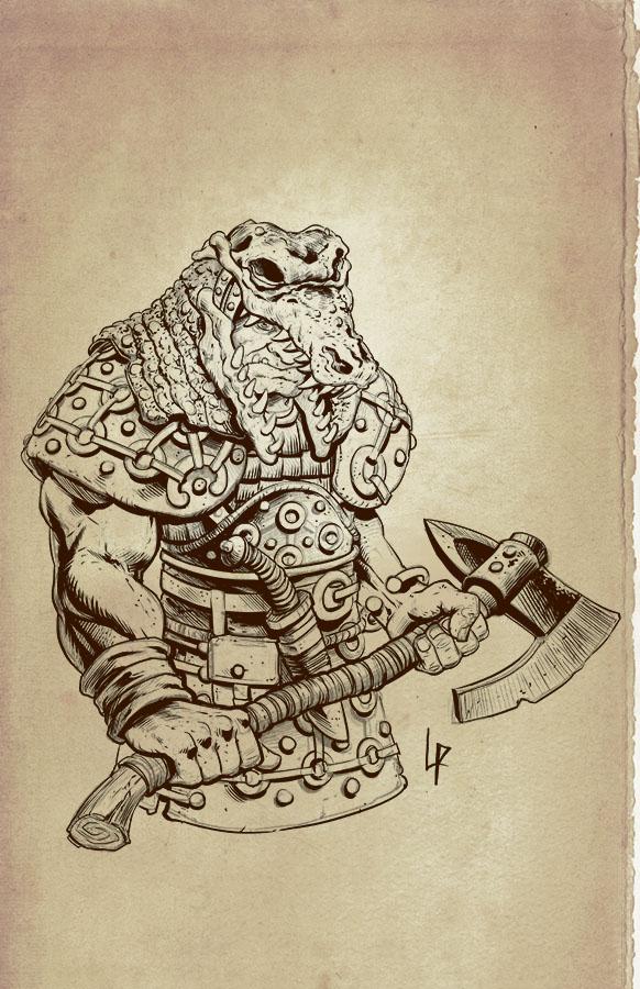 Croc Orc by Savedra