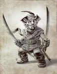 Gnome swashbuckler sketch