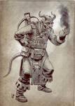 Thiefling Alchemist Sketch