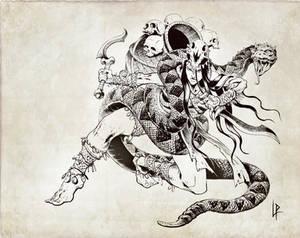 Calyndra, the crawling shadow