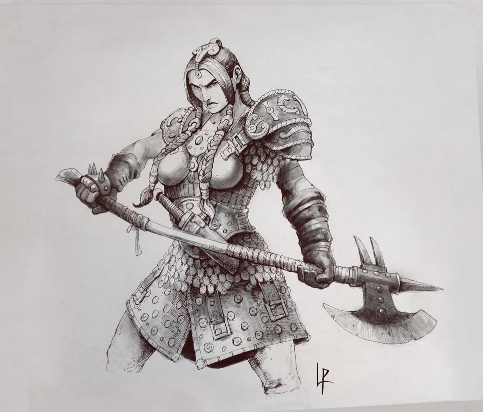 Lohainne the Iron Heart by Savedra