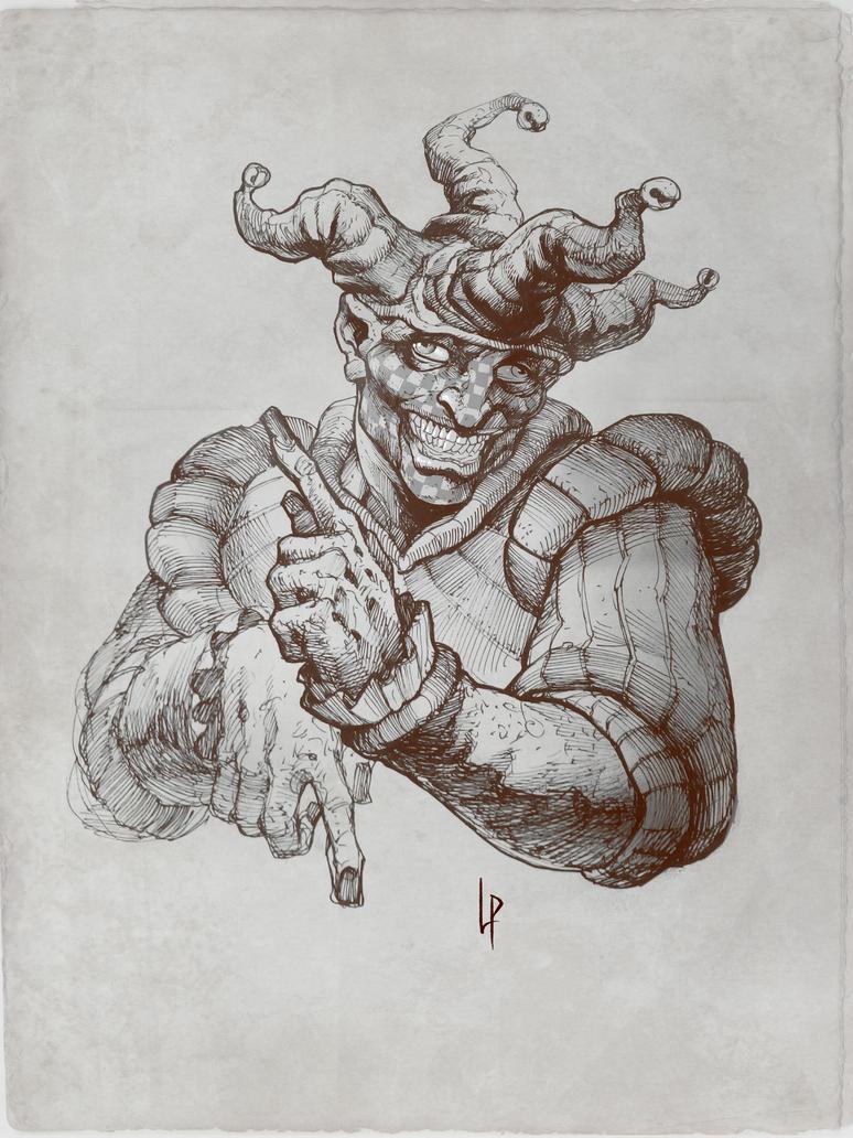 Patchface sketch by Savedra