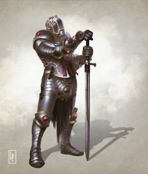 Plate armor knight