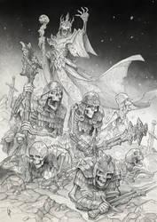 Lich Overlord summoning pencils