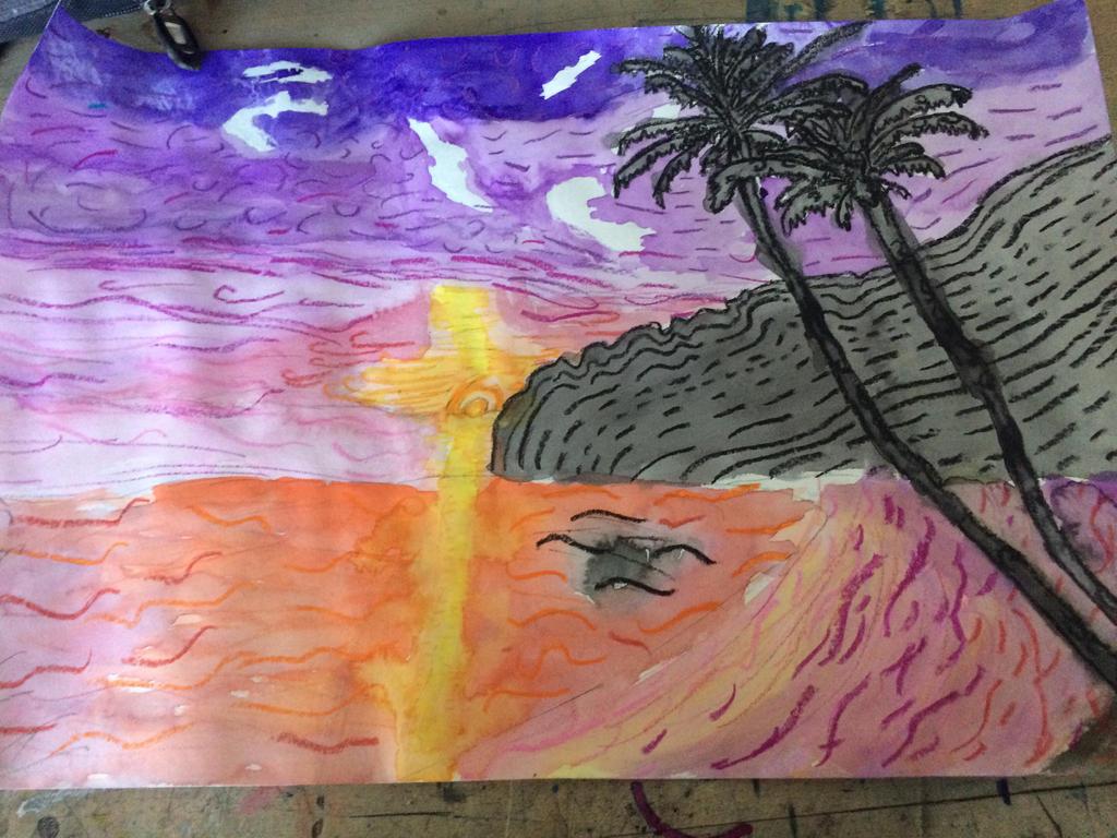 Sun set by TheCrazyLizord