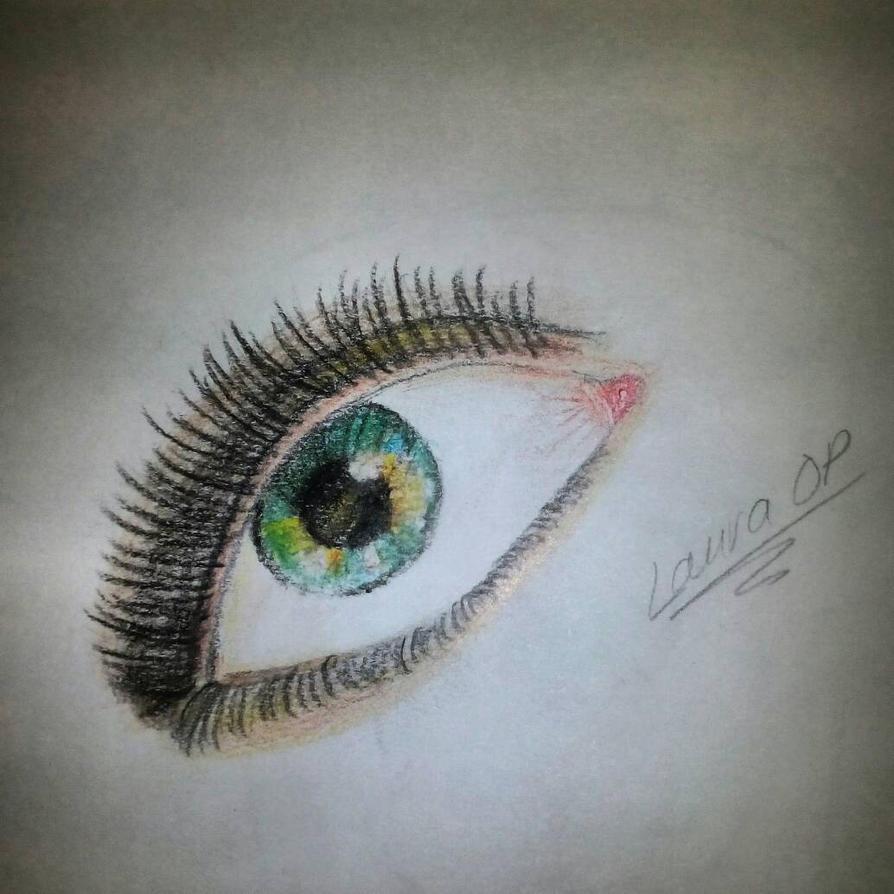 Green eye by LauraOs96