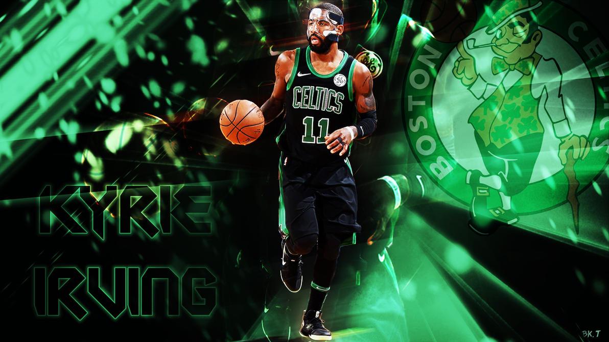 Kyrie On Celtics Wallpaper >> Kyrie Irving Celtics Wallpaper HD by BkTiem on DeviantArt