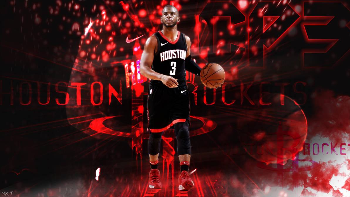 Chris Paul Houston Rockets Wallpaper HD by BkTiem ...