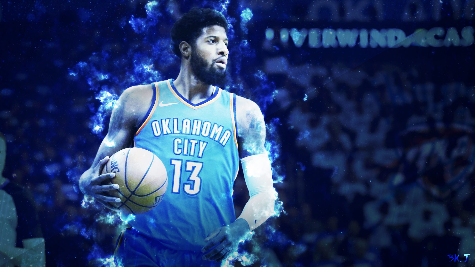 ... Paul George Thunder Wallpaper HD by BkTiem