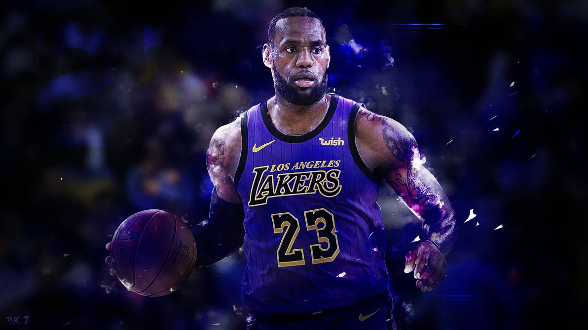 Lebron James Lakers Wallpapers: LeBron James Lakers Wallpaper HD 2019 By BkTiem On DeviantArt