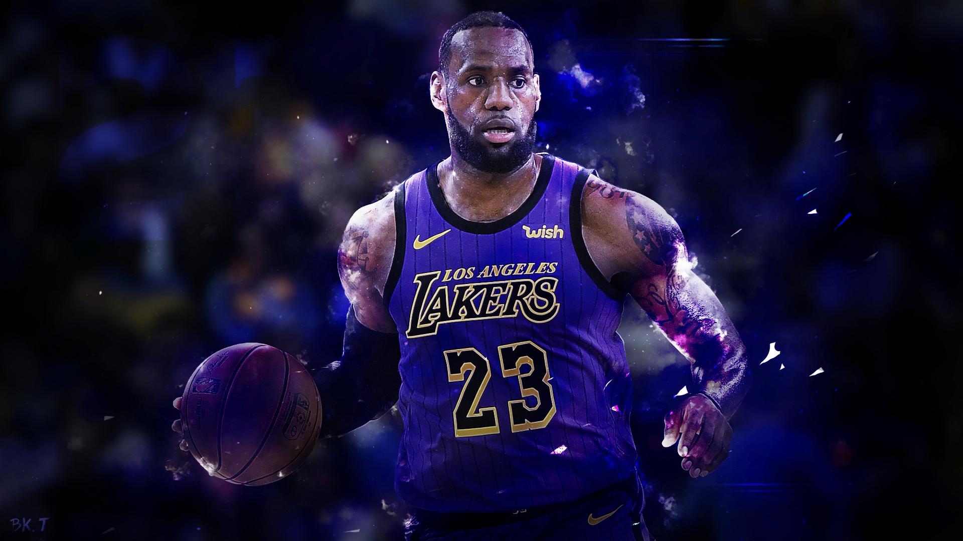 Lebron Lakers Wallpapers: LeBron James Lakers Wallpaper HD 2019 By BkTiem On DeviantArt