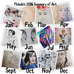 2016 Summary of Art by Zelda-Chan202