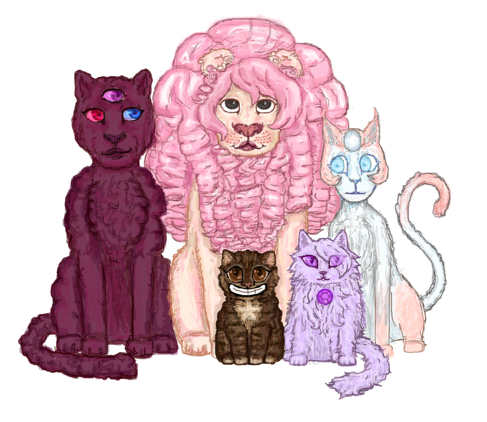 Catstal Gems [Read description for cat types] by PigeonLuffa on ...