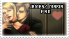 James x Maria Fan by QuidxProxQuo