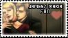 James x Maria Fan by QuidxProxQuo