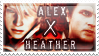 Alex x Heather by QuidxProxQuo
