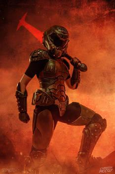 Doom Eternal - Doomsplayer aka Doomgirl