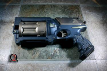 Tesla Bolt Revolver by wolfetrap