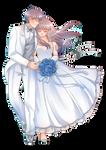 [c] Kazaka and Ayami Wedding by Qeisvara