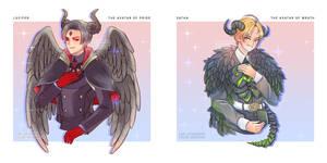 Lucifer and Satan