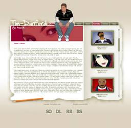 Tim-Dunford.com Design