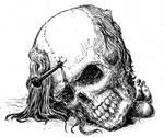 Nailed Skull