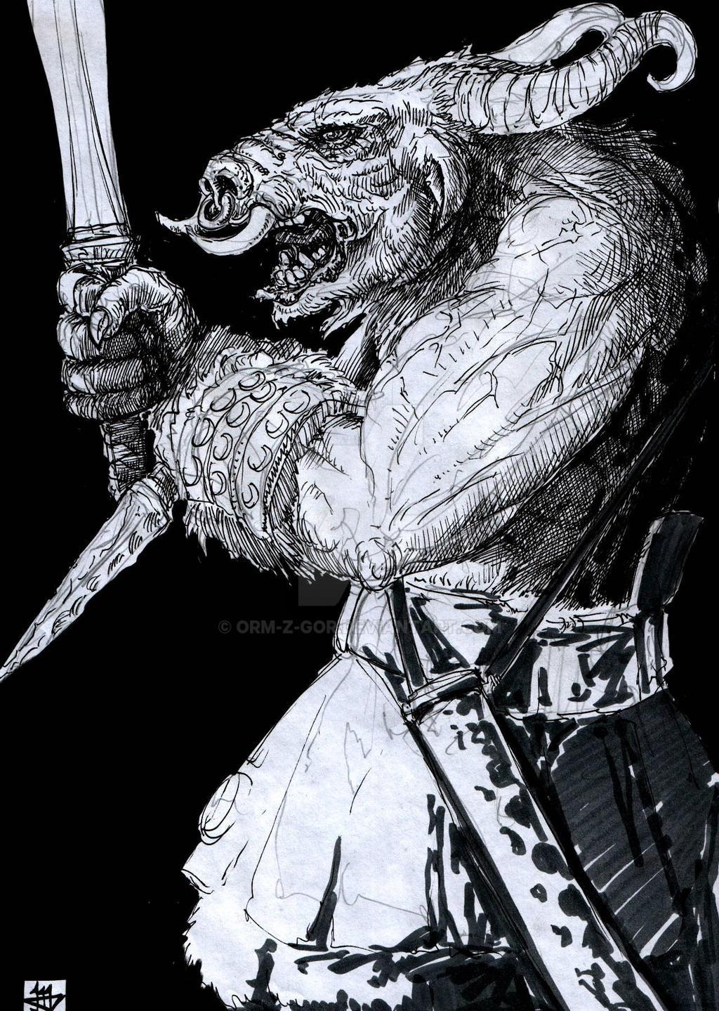 Satyr II by Orm-Z-Gor