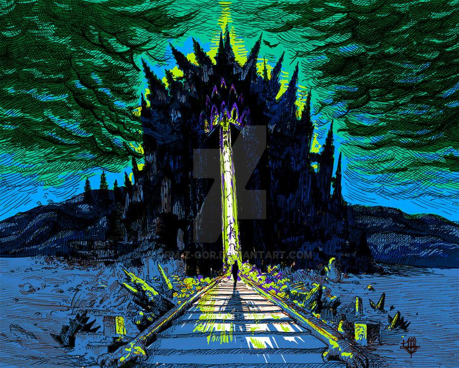 Minas Morgul by Orm-Z-Gor