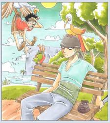 One Piece - Bird Food by Arcirithwen