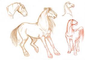 Horses by Arcirithwen