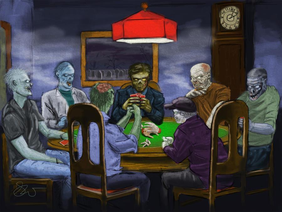 Zombie poker tour