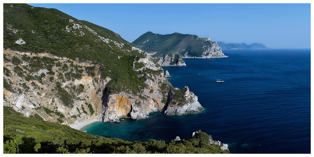 Giali beach paleokastritsa by piro23