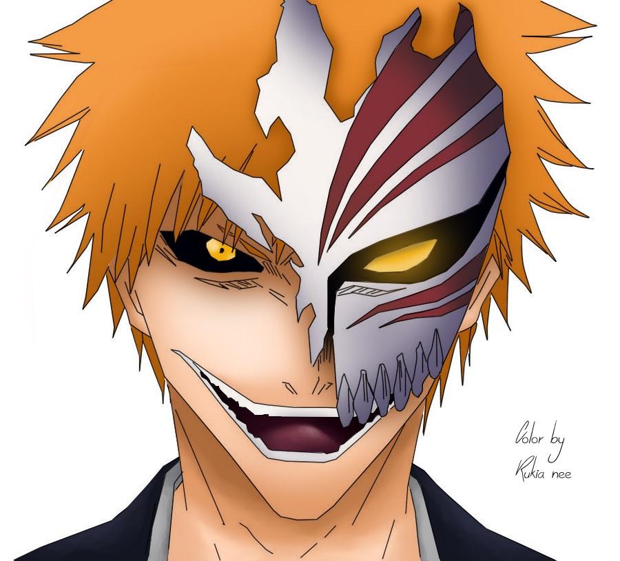 Hollow Ichigo By Rukia-nee On DeviantArt