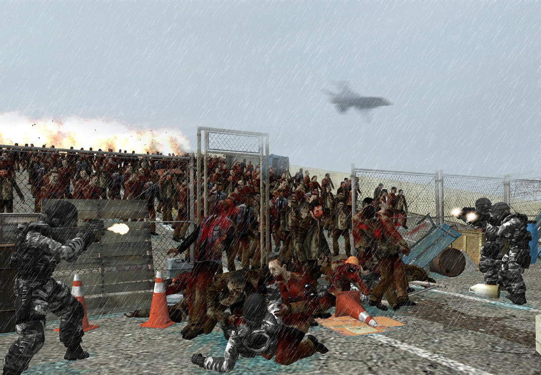 Garrys mod - Zombie Battle by BravoThree