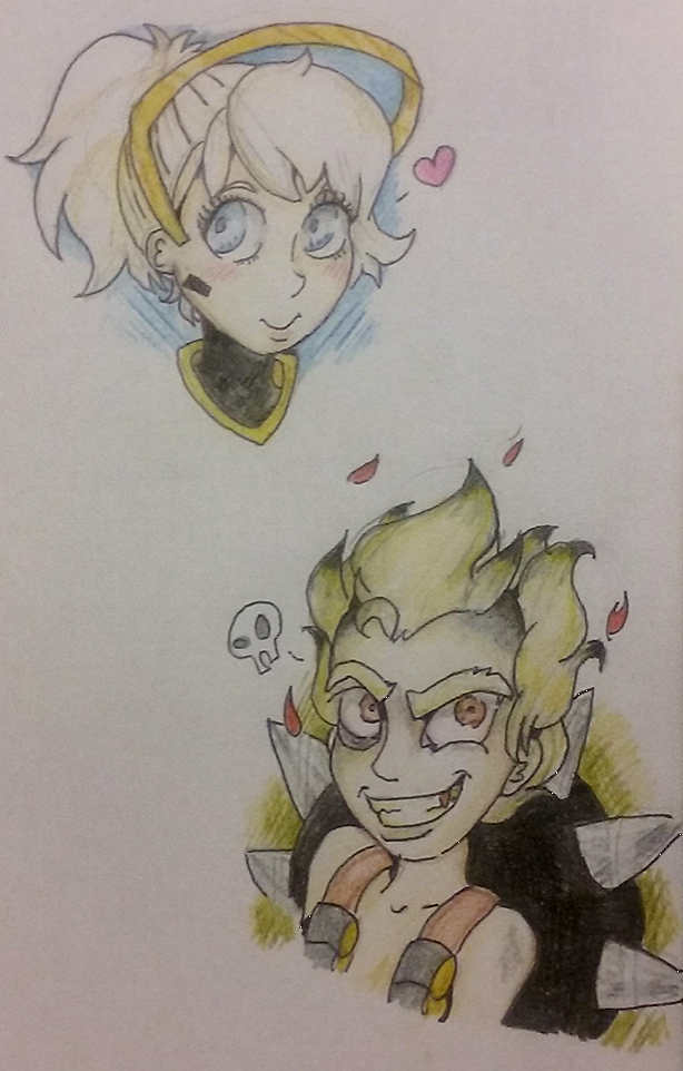 Mercy And Junkrat