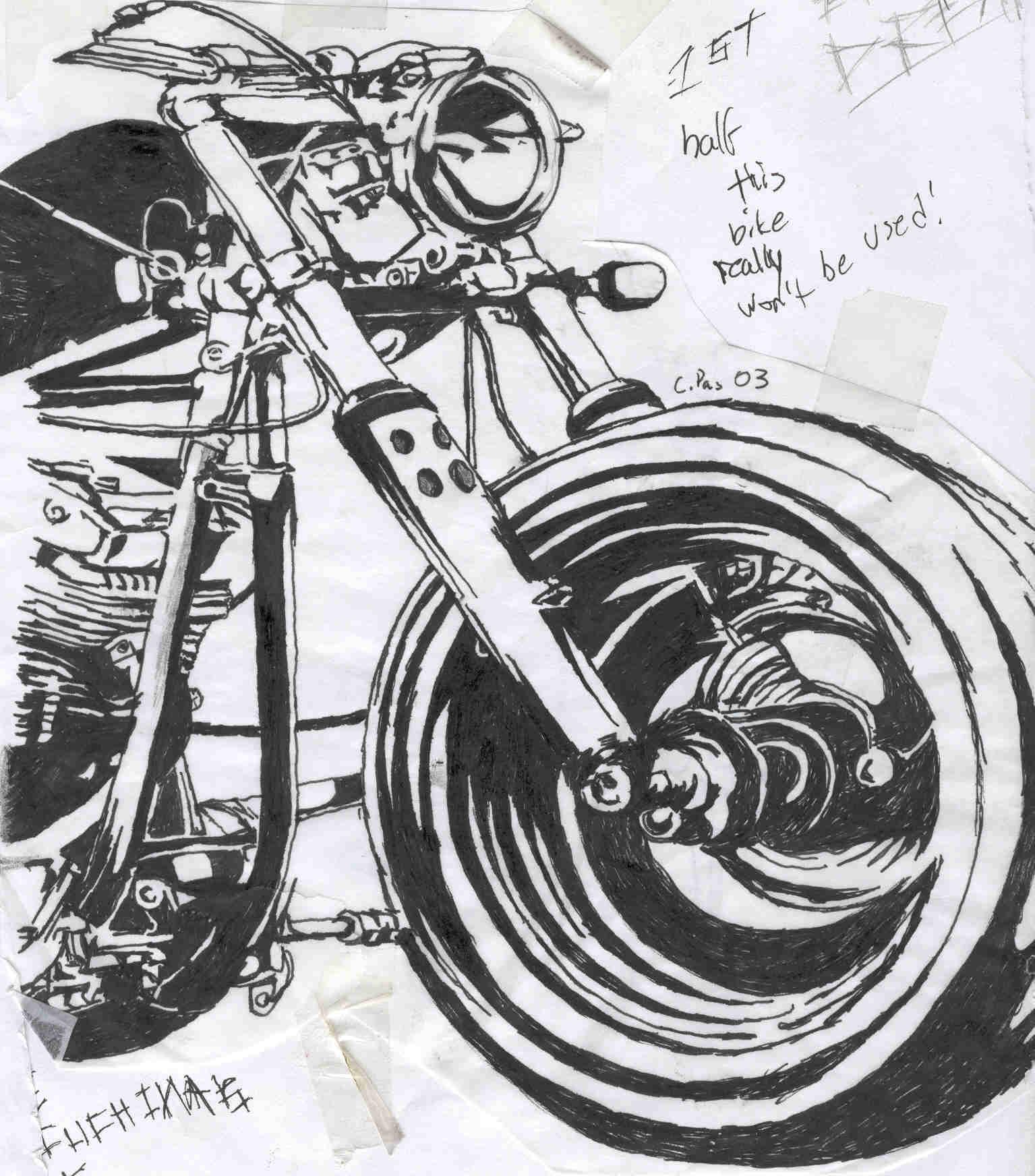 bike 1 and bike 2 other half by xacuchina