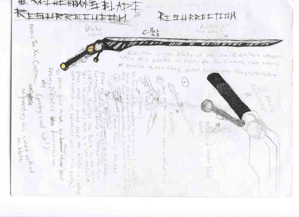 Xacuchina's bladeresurrection by xacuchina