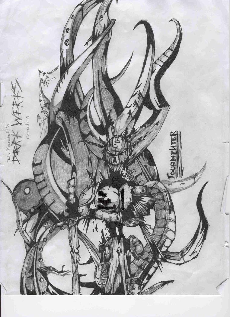 The Tourmenter by xacuchina