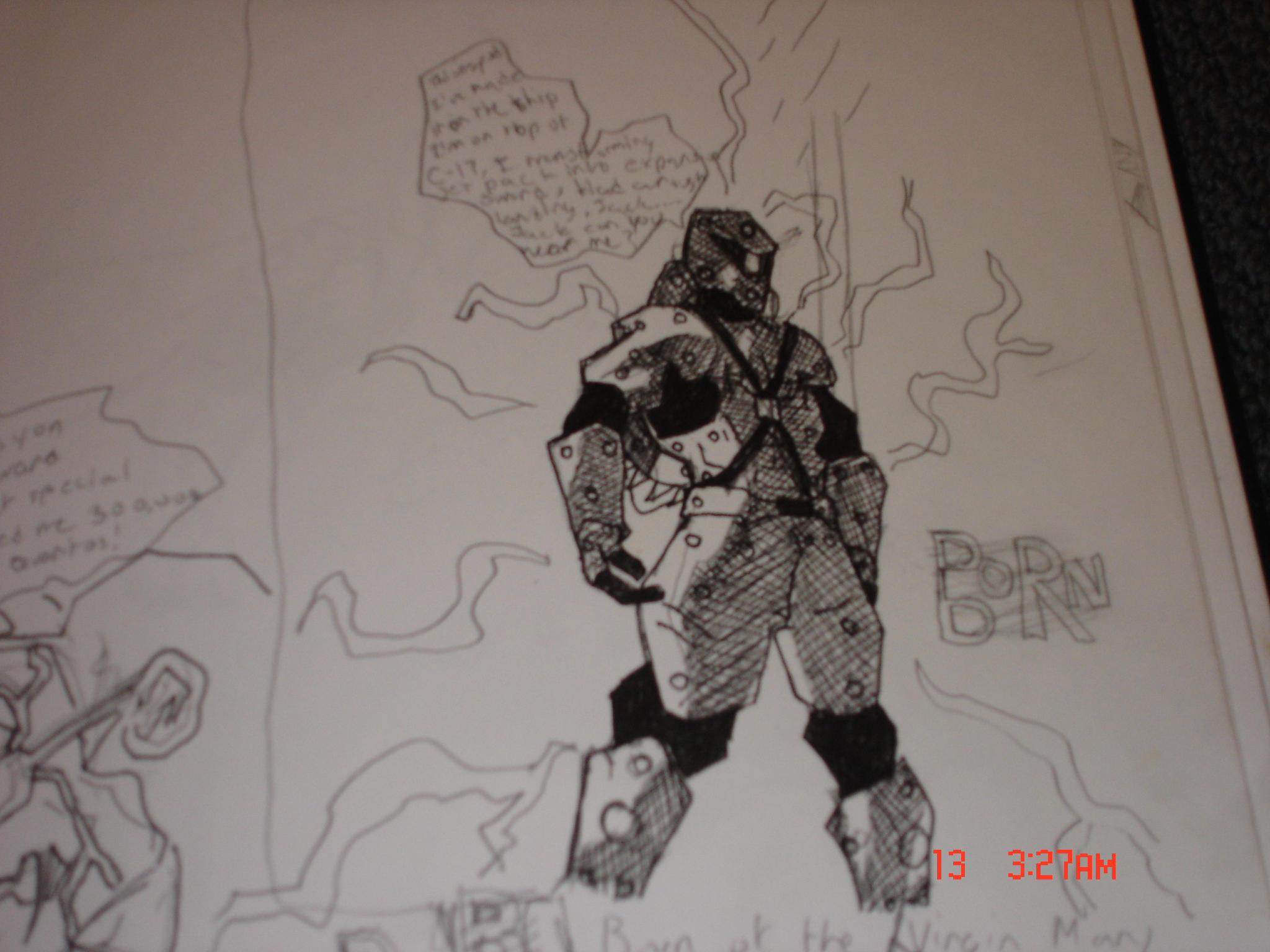 SPUD heavy armor by xacuchina