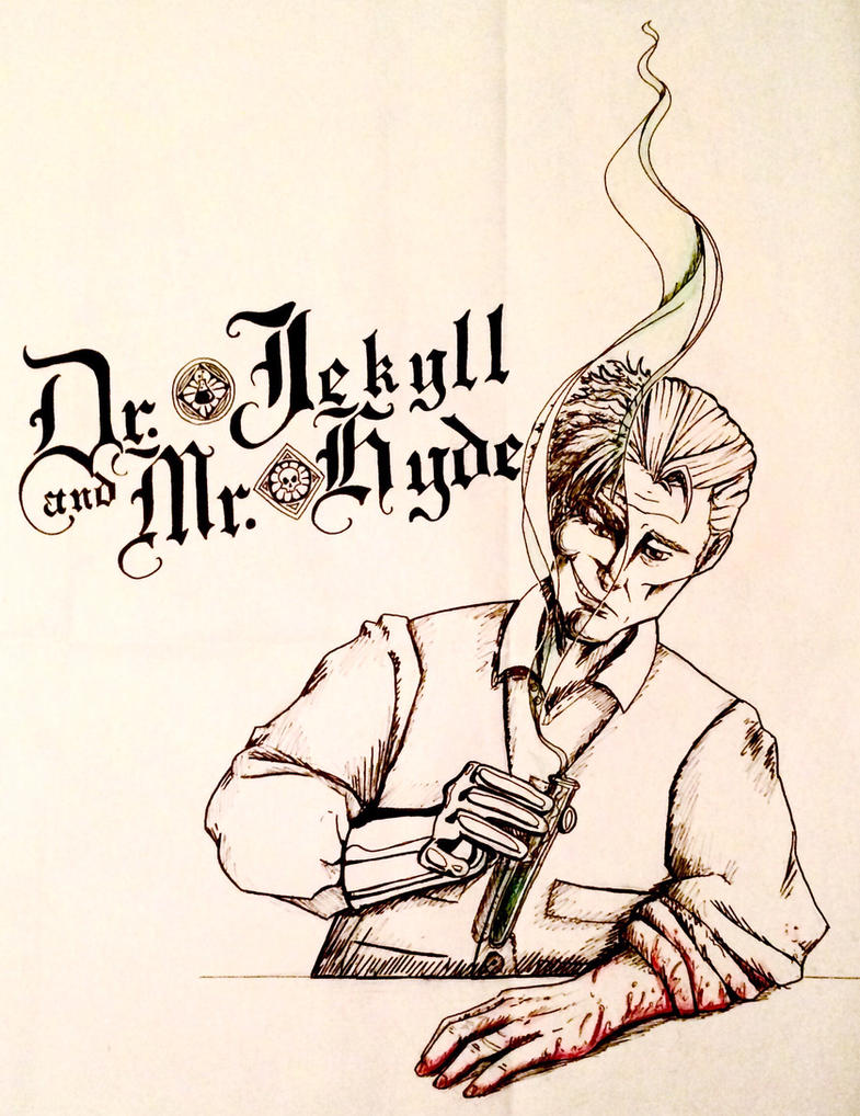 Dr Jekyll and Mr Hyde by Cakecatlady