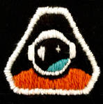 Embroidered Cosmonaut patch (PhilosophyTube) by Cakecatlady