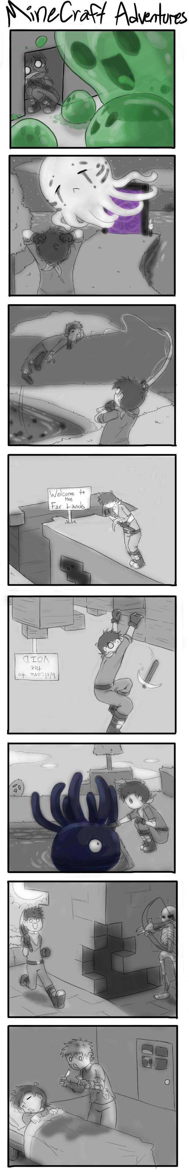 Minecraft Adventures by TehArtMonkey