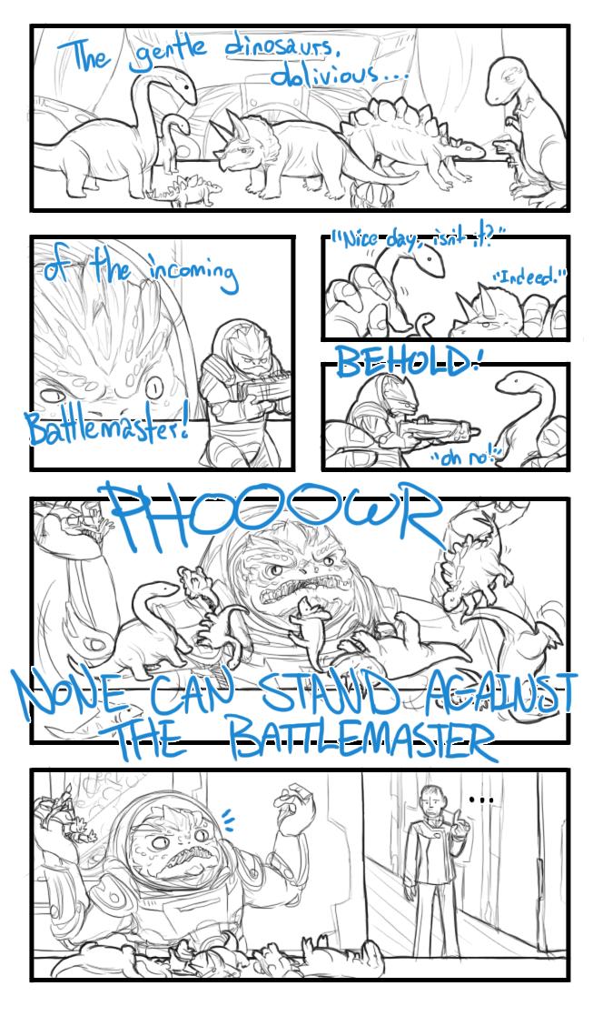 Dinosaur Battlemaster by TehArtMonkey