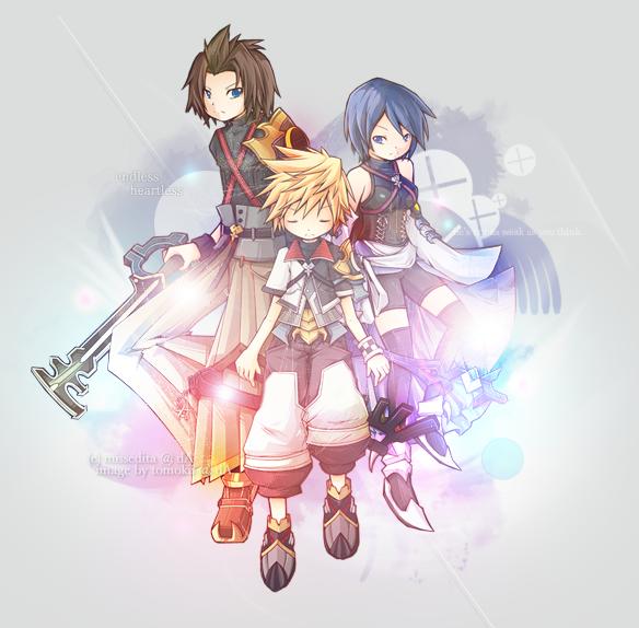Heart's Trio by missedita