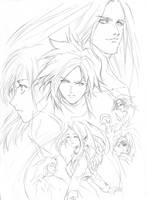 FF7 Advent by HeisT-HeX