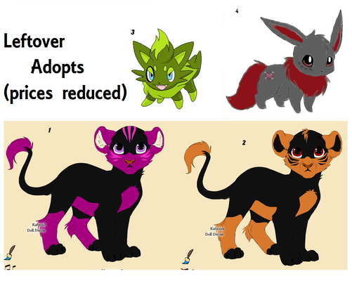 LeftOver Adopts (closed)