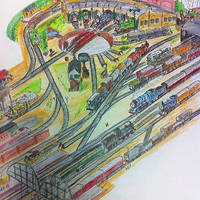 Thomas the Tank Engine - Tidmouth Sheds and Yard by TheUltimateDominator
