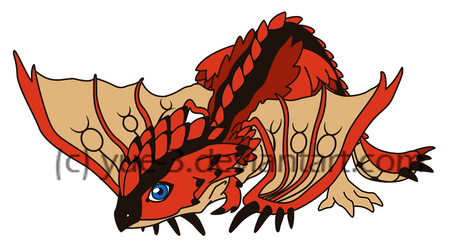 MH: Chibi Rathalos by yue-3