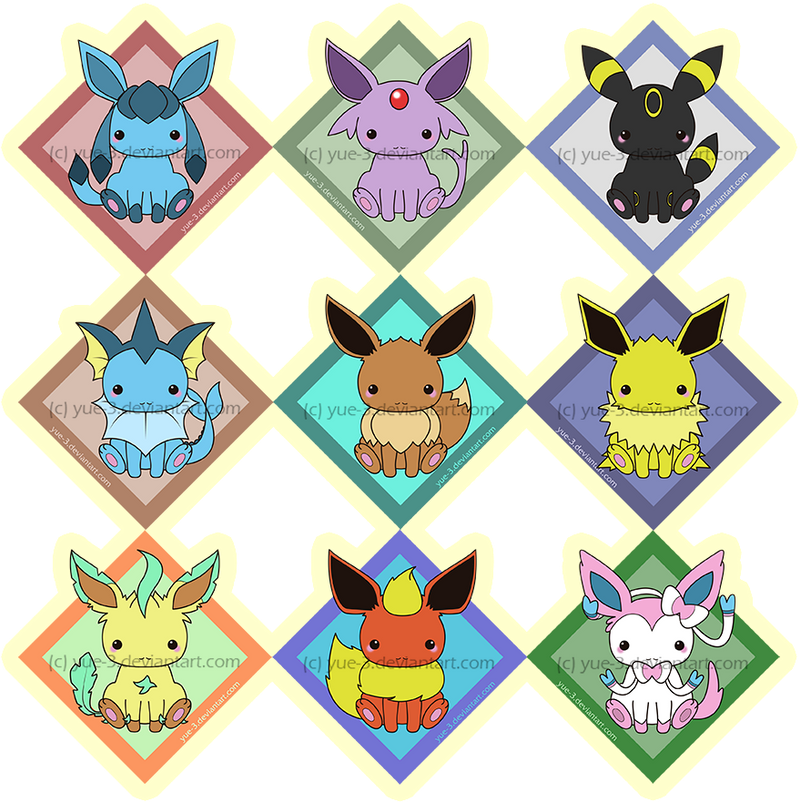 eeveelutions chibi wallpaper - photo #38